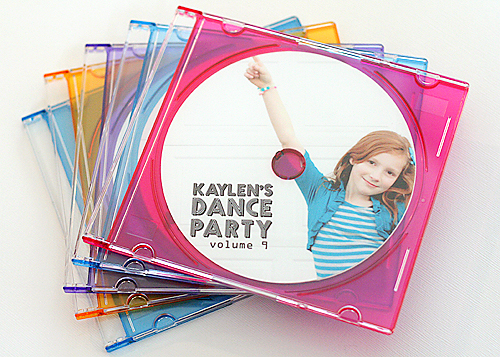 dance party invitation Lisa Storms