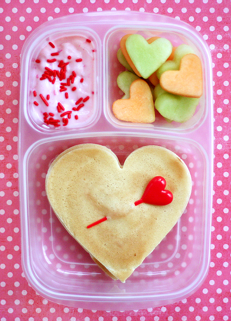food gifts: valentine lunches