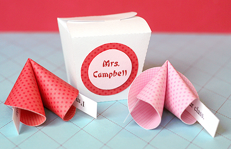 paper fortune cookie valentines lisa storms