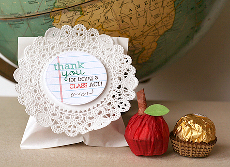 Teacher Appreciation Treat With Printable Tags Lisa Storms