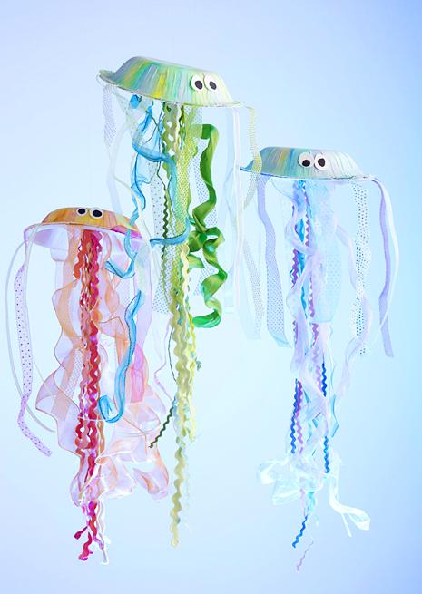Jellyfish Kids Craft Lisa Storms