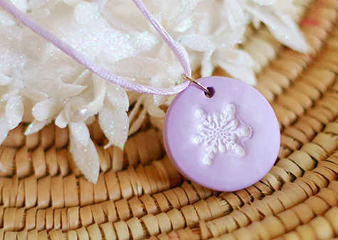 Clay pendant tutorial lisa storms aloadofball Image collections
