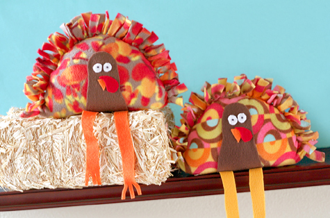 Stuffed turkey craft