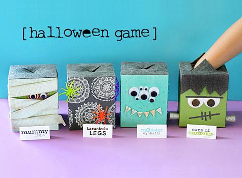 halloween game with free printable - Lisa Storms