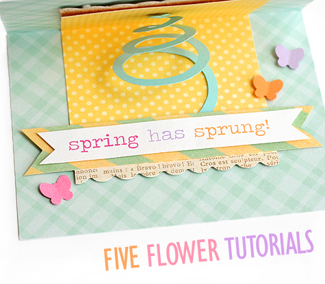 5 Flower Tutorials