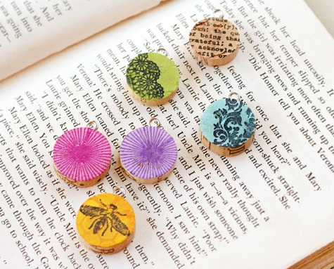 Wine Cork Pendants by Lisa Storms