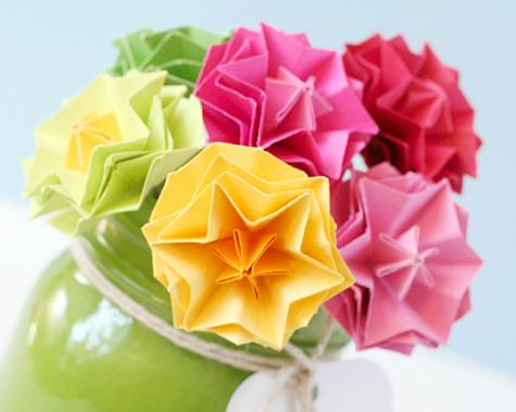 Hexagon Flowers