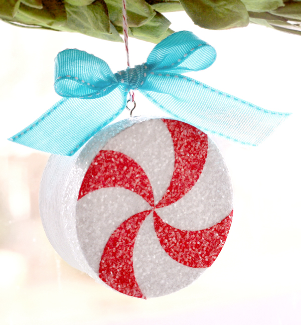 Peppermint Ornament Tutorial by Lisa Storms - with a special photo inside!