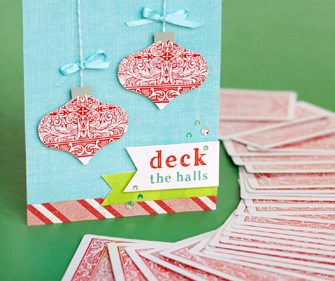 Deck the Halls - Punny Christmas Cards