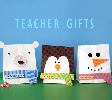 Teacher Holiday Gift Bags