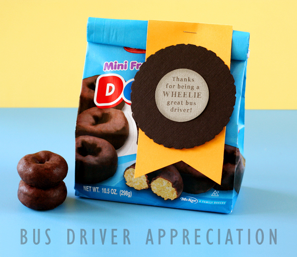 Bus Drive Appreciation Gifts