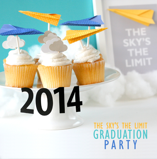 The Sky Is the Limit Graduation Party