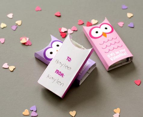 Owl Valentines - Demo 3